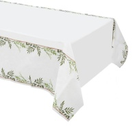 Mantel de papel de Love & Leaves - 1,37 x 2,59 m