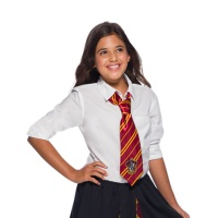 Corbata de Gryffindor granate de Harry Potter