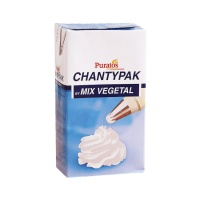 Nata mix vegetal Chantypak - Puratos - 1 L