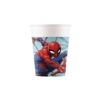 Vasos de Spiderman de 200 ml - 8 unidades