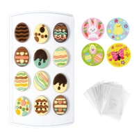 Kit para chocolates de Pascua - 40 unidades
