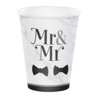 Vasos de Mr & Mr de 354 ml - 8 unidades