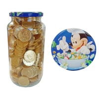Monedas de chocolate en bote de Mickey Mouse - 250 unidades