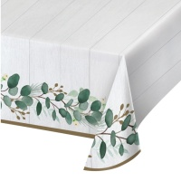 Mantel de Love & Leaves de 1,37 x 2,59 m