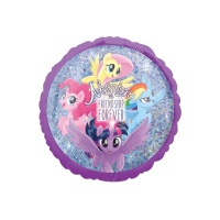 Globo redondo de My Little Pony de 45 cm