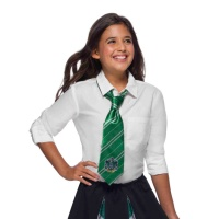 Corbata de Slytherin verde de Harry Potter