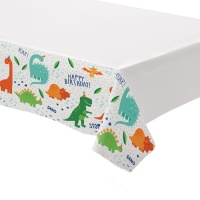 Mantel de Dino Party - 1,37 x 2,43 m