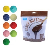 Candy buttons de chocolate de colores de 340 g - PME