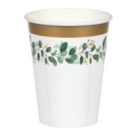 Vasos de Love & Leaves de 354 ml - 8 unidades